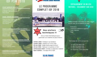 Commission Pêche- sous- marine saison 2018