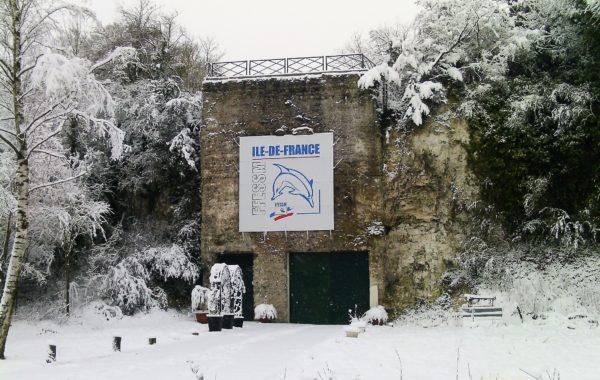 Février 2018 sous la neige…..